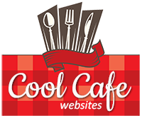 One Page Website for Cafe, Restaurant, Diner or Coffeehouse